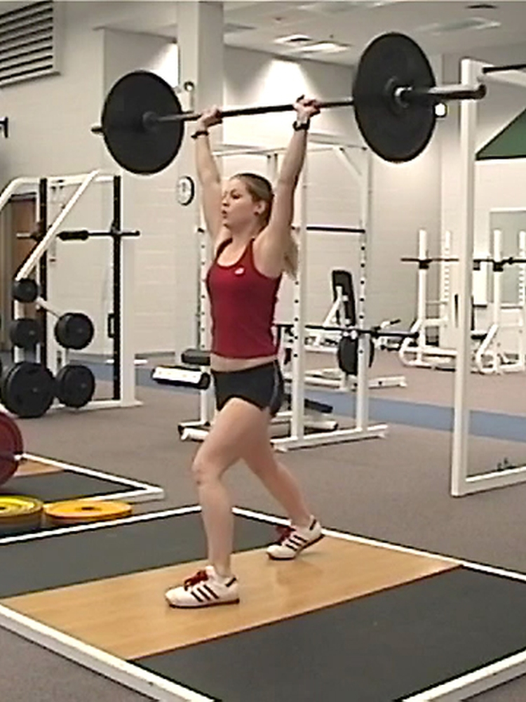 Teen Olympic-style Weightlifting Program