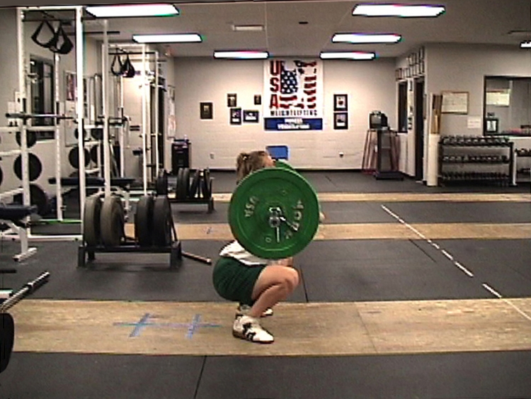 Clean Squat Catch
