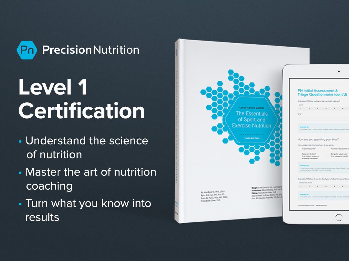 Precision Nutrition Level 1 Certification