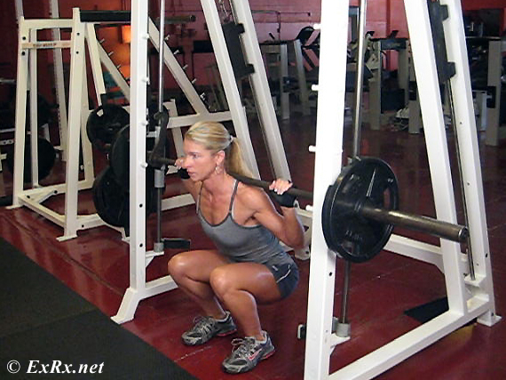 Problems with Smith Squats