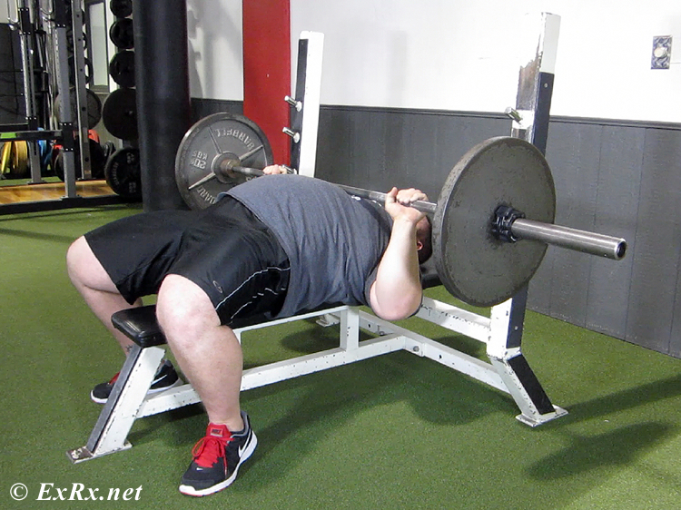 Bench Press Powerlifting Style