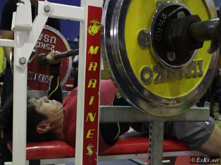 Bench Press in Powerlifting Competition