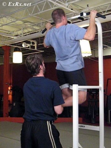 Partner-assisted Pull-ups