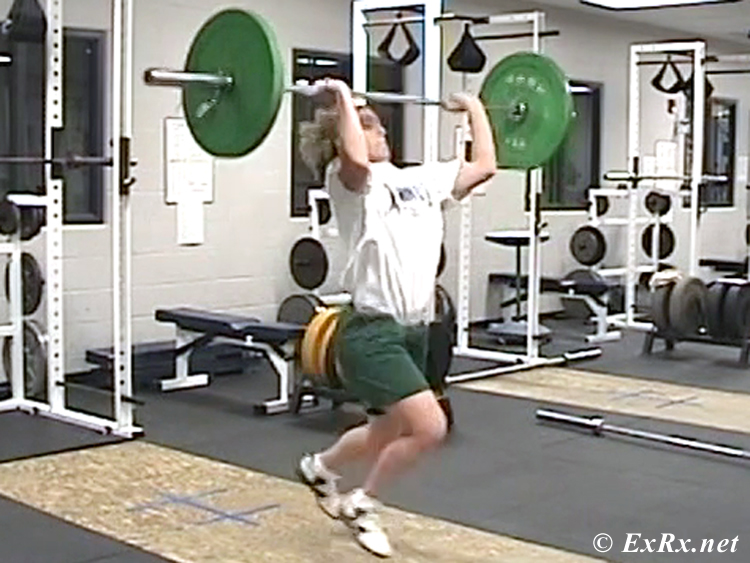 Weightlifting Program for Athletes