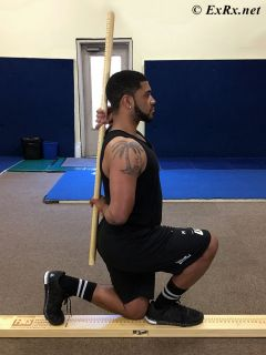 In-Line Lunge Test