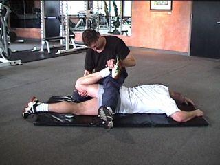 PNF Lying (Prone) Quadriceps Stretch