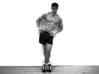 Standing Iliotibial Stretch