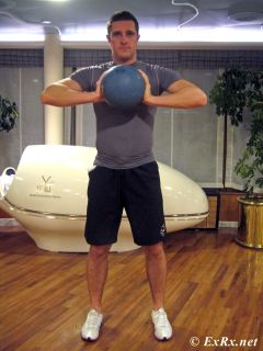 Medicine Ball Chest Pass Test