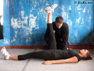 Active Lying Straight-Leg Raise Test (with Goniometer)