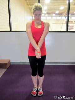 Standing Brachioradialis Stretch