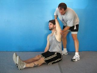 PNF Overhead Lat Stretch