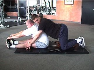 PNF Seated Hamstring Stretch