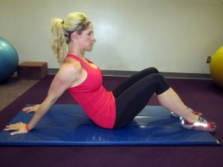 Seated Biceps Stretch